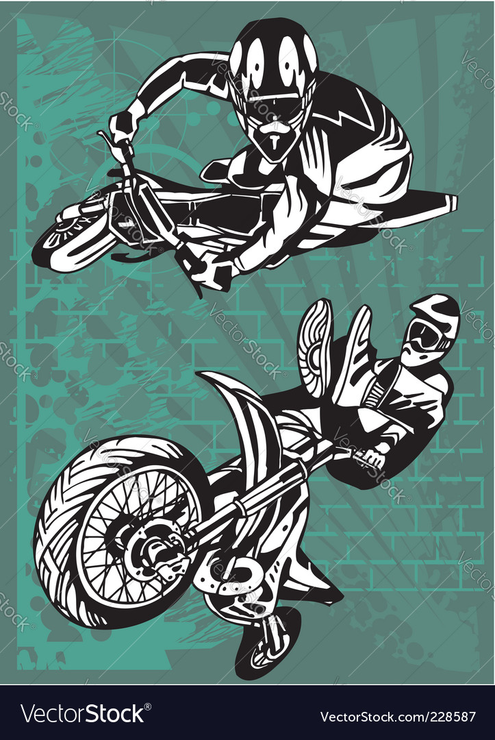 Motorbike vector | Price: 1 Credit (USD $1)