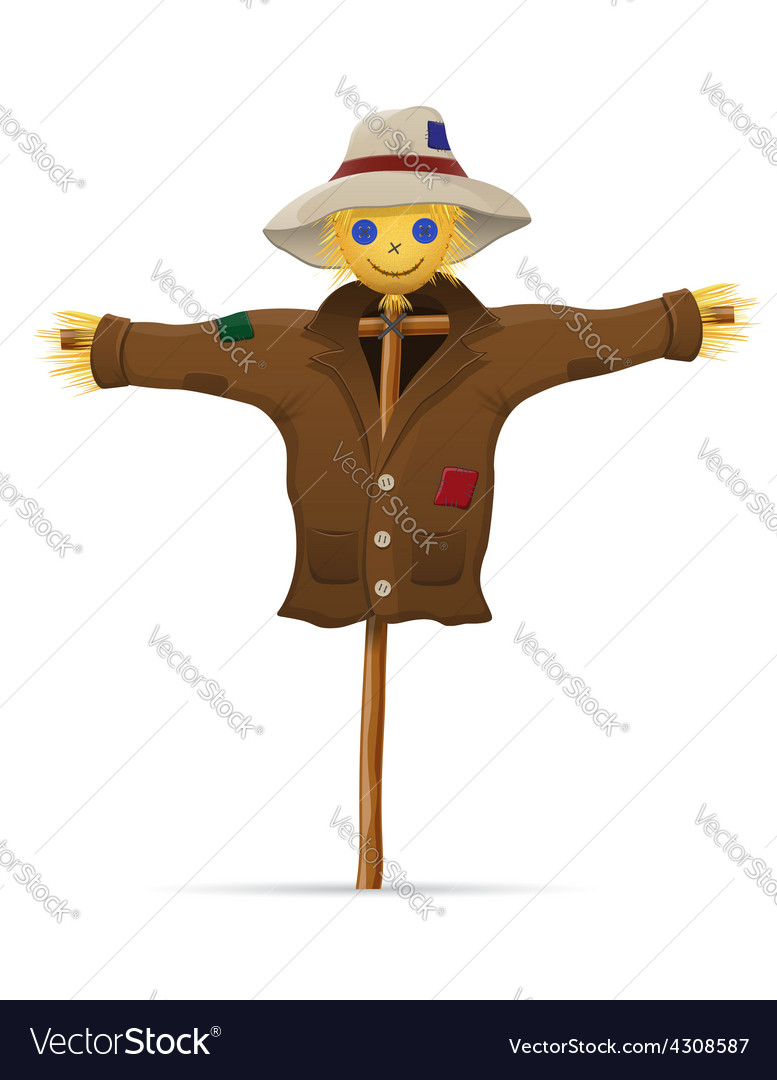 Scarecrow 01 vector | Price: 1 Credit (USD $1)
