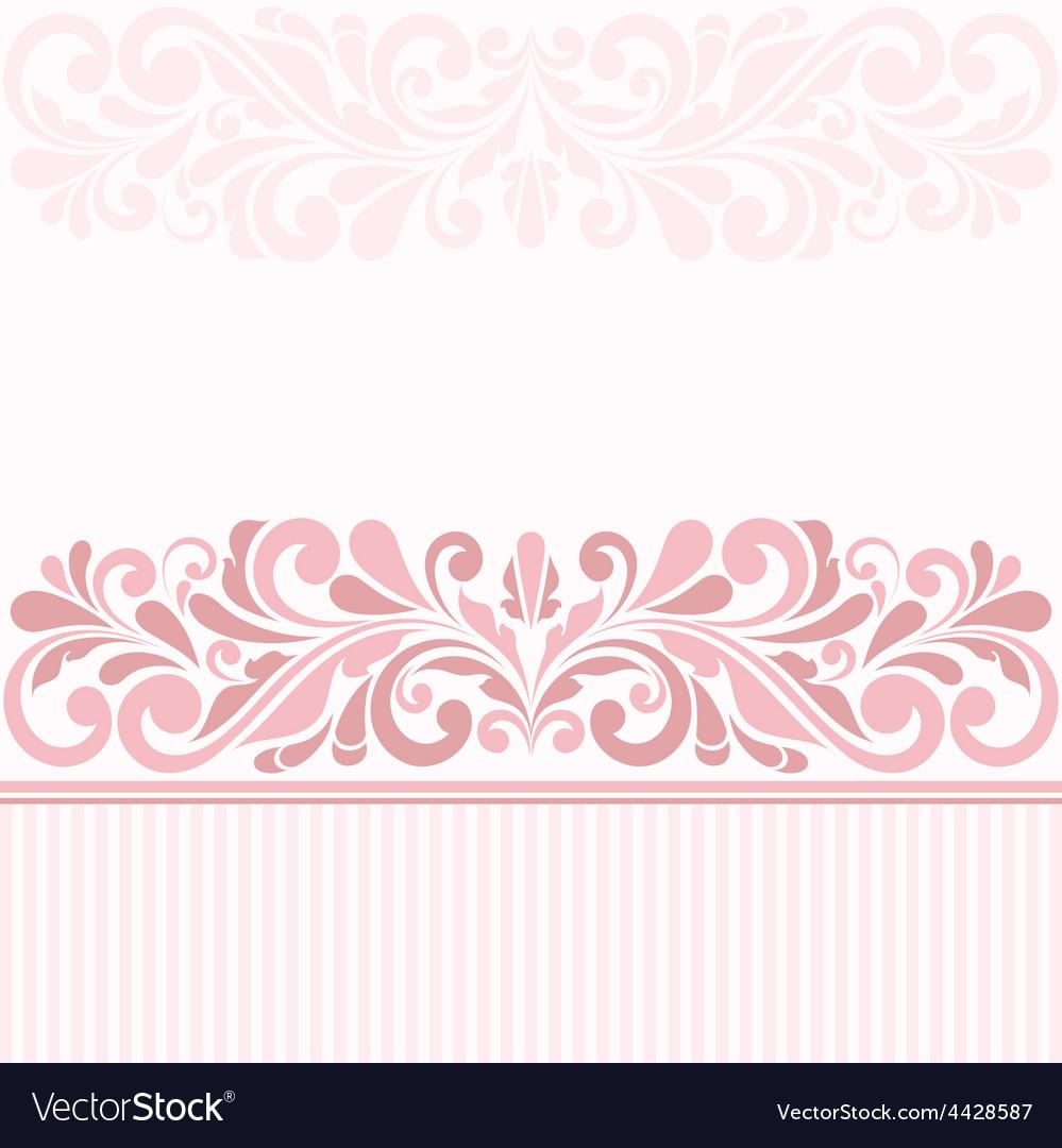 Vintage greeting card vector | Price: 1 Credit (USD $1)