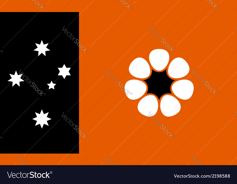Australian northern territory vector | Price: 1 Credit (USD $1)