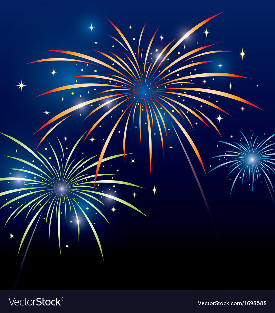 Firework design vector | Price: 1 Credit (USD $1)