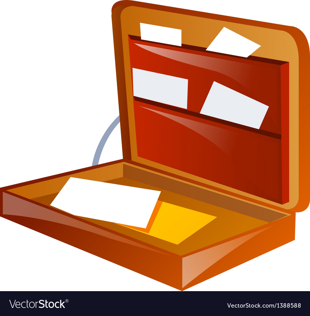 Icon briefcase vector | Price: 1 Credit (USD $1)
