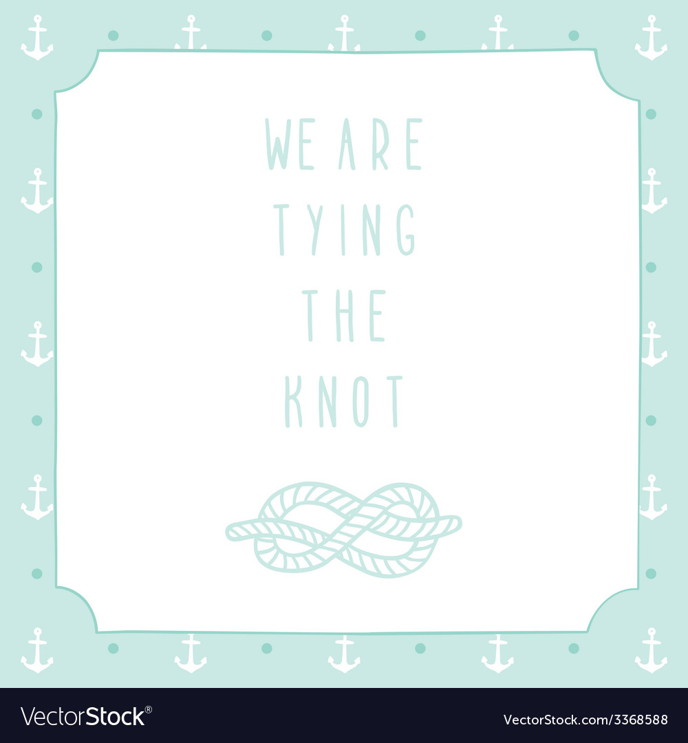 Its a boy anchor greeting card template vector | Price: 1 Credit (USD $1)