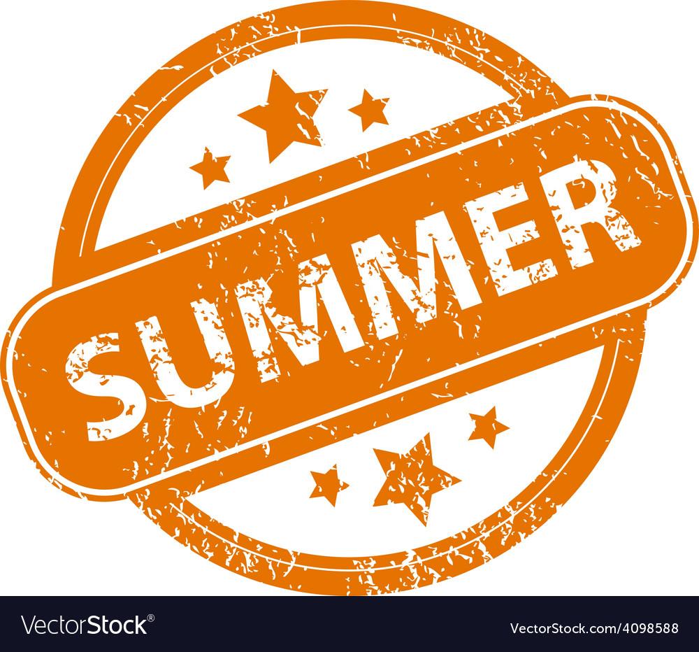 Summer grunge icon vector | Price: 1 Credit (USD $1)