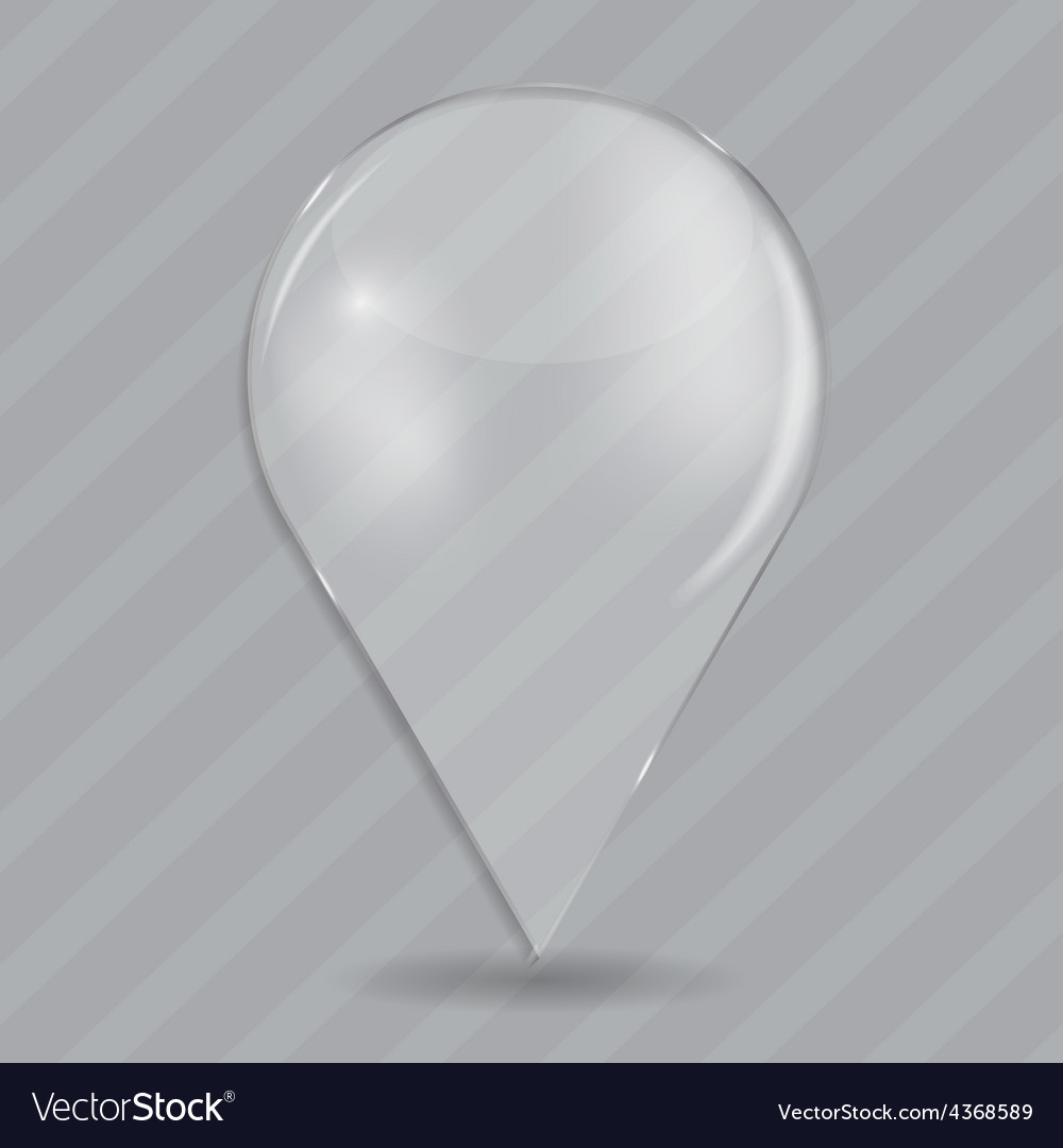 Glass drop frame on abstract background vector | Price: 1 Credit (USD $1)