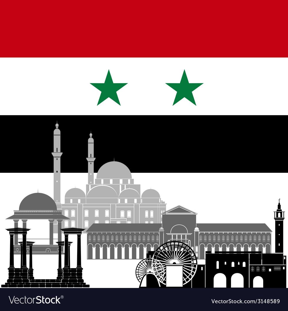 Syria vector | Price: 1 Credit (USD $1)
