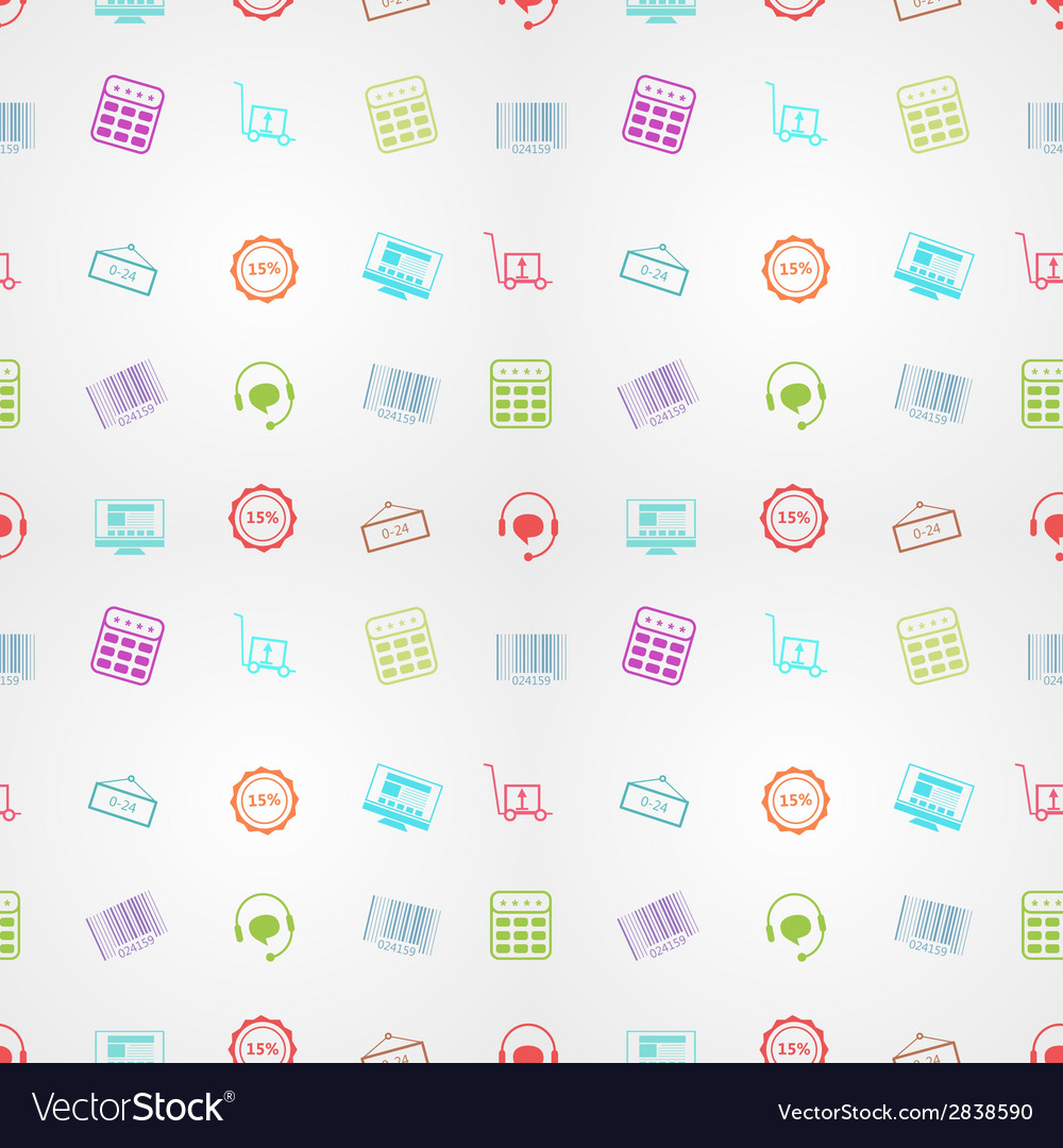 Colored background for online sales vector | Price: 1 Credit (USD $1)