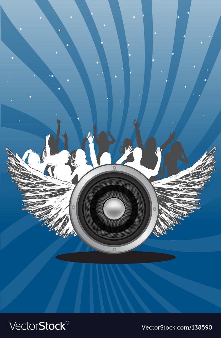 Dance flyer vector   Price: 1 Credit (USD $1)