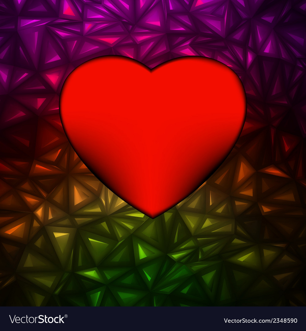 Heart bokeh frame with space eps 8 vector   Price: 1 Credit (USD $1)
