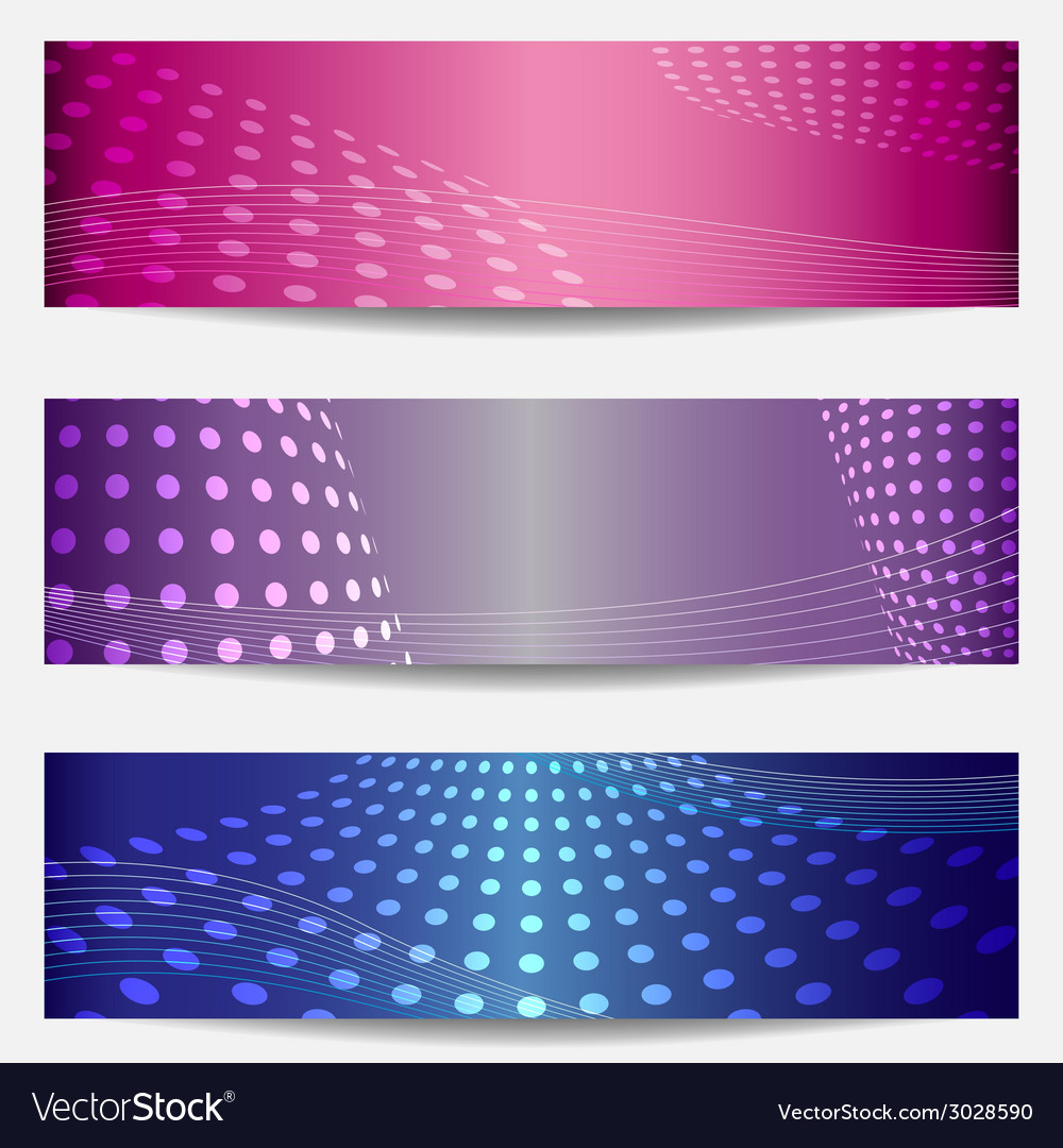 Set of three templates for disco party invitations vector | Price: 1 Credit (USD $1)