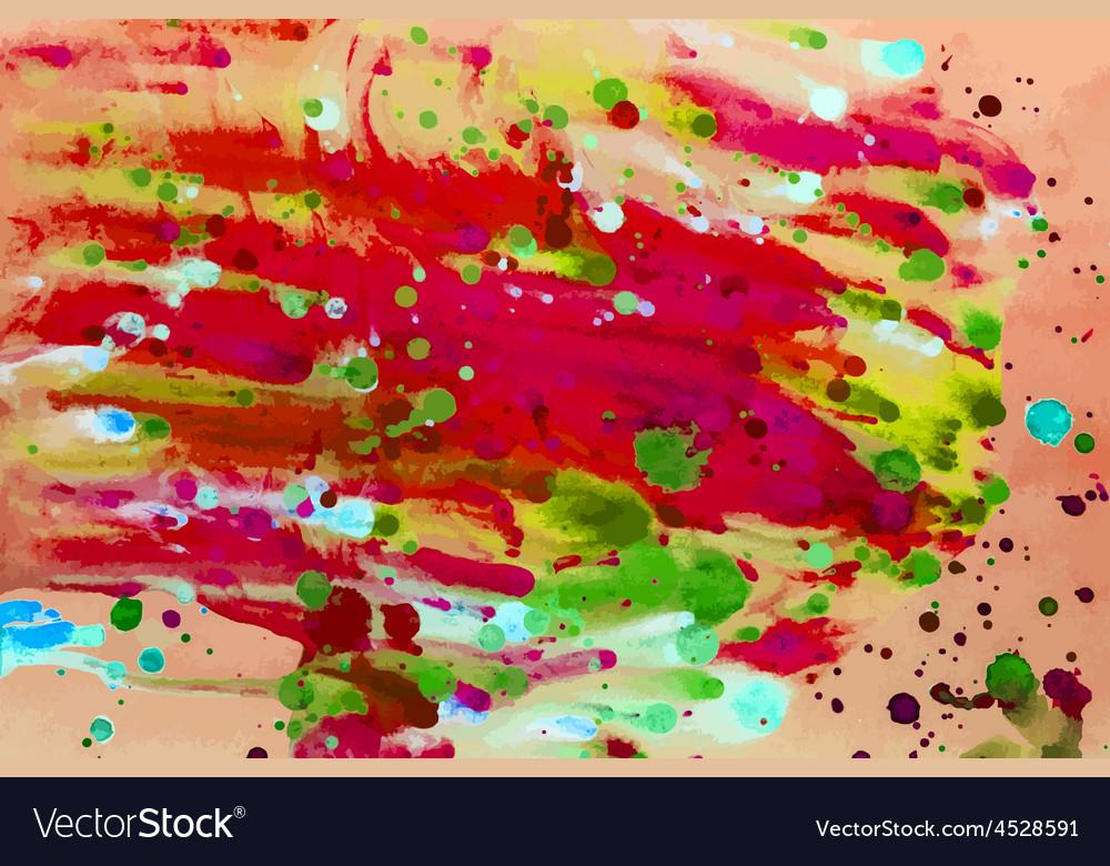 Colorful watercolor vector | Price: 1 Credit (USD $1)