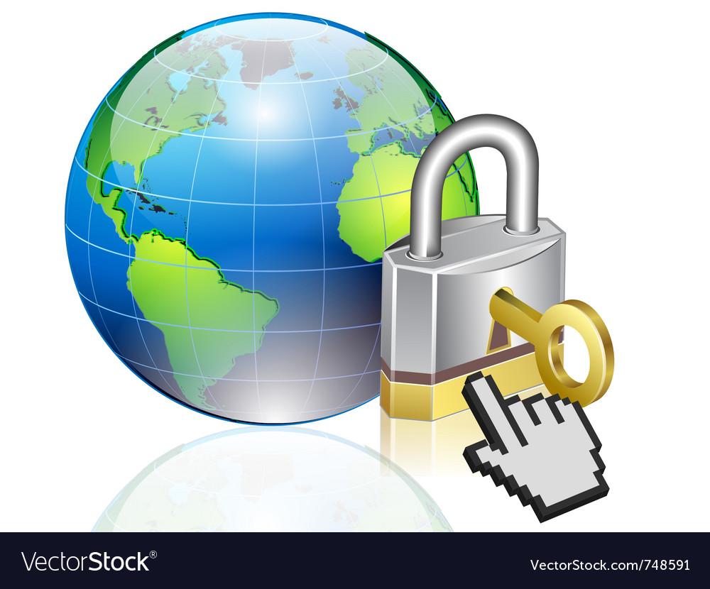 World lock vector   Price: 3 Credit (USD $3)