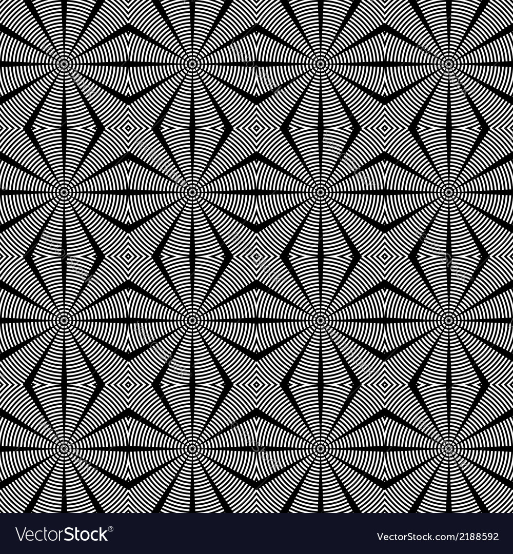 Design seamless diamond lattice pattern vector | Price: 1 Credit (USD $1)