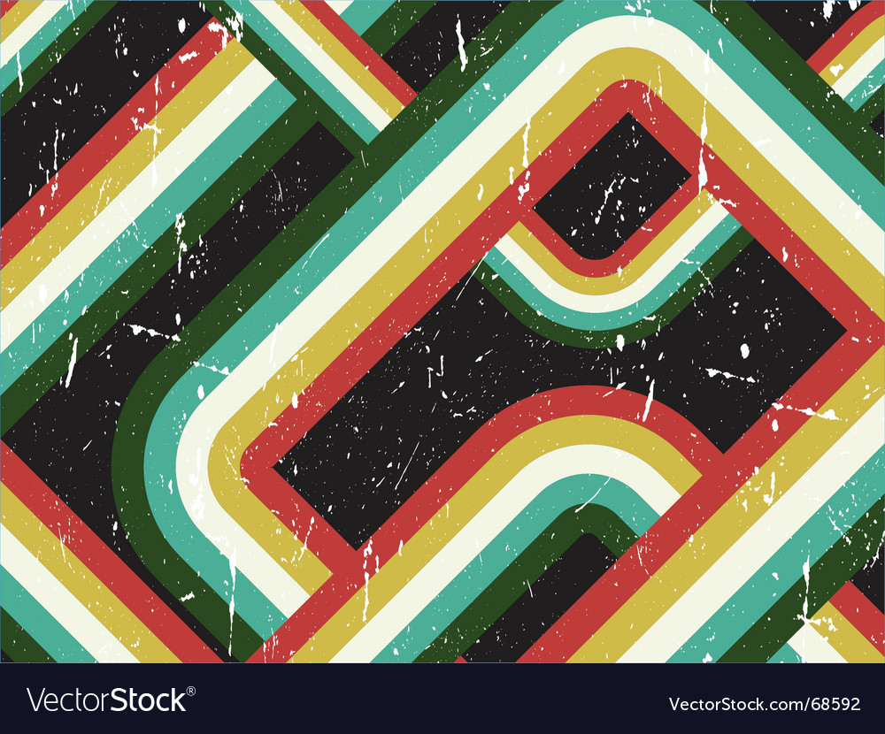 Retro striped background vector | Price: 1 Credit (USD $1)