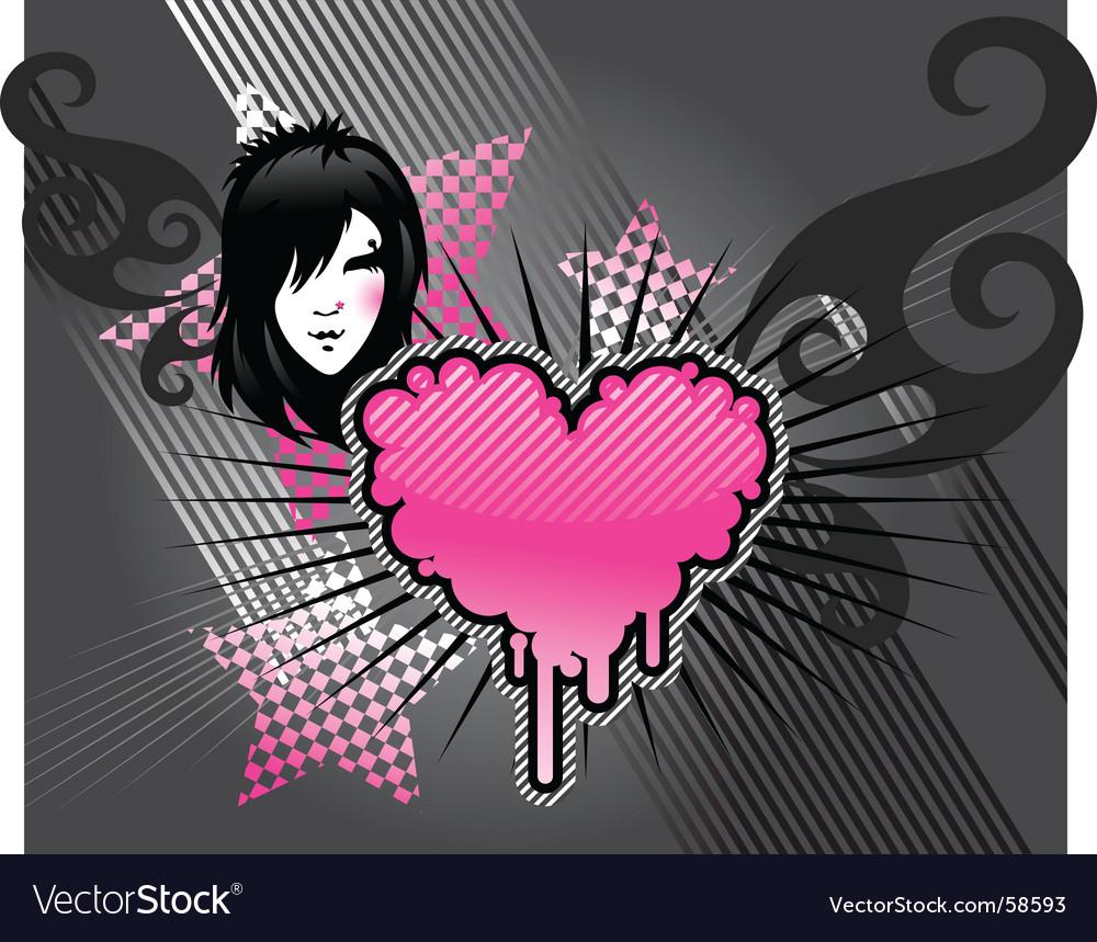 Emo background vector   Price: 1 Credit (USD $1)
