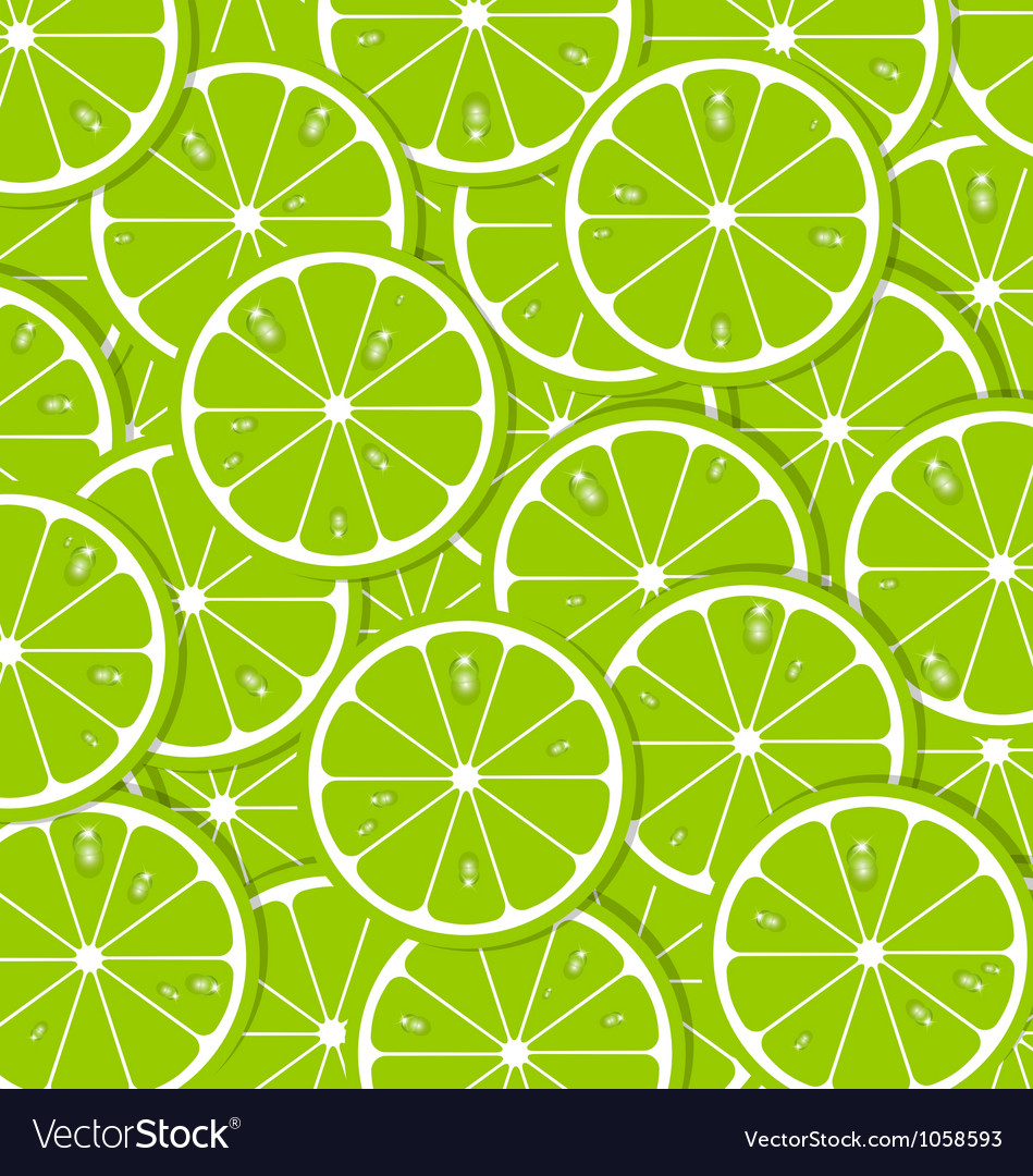 Lime slices vector | Price: 1 Credit (USD $1)