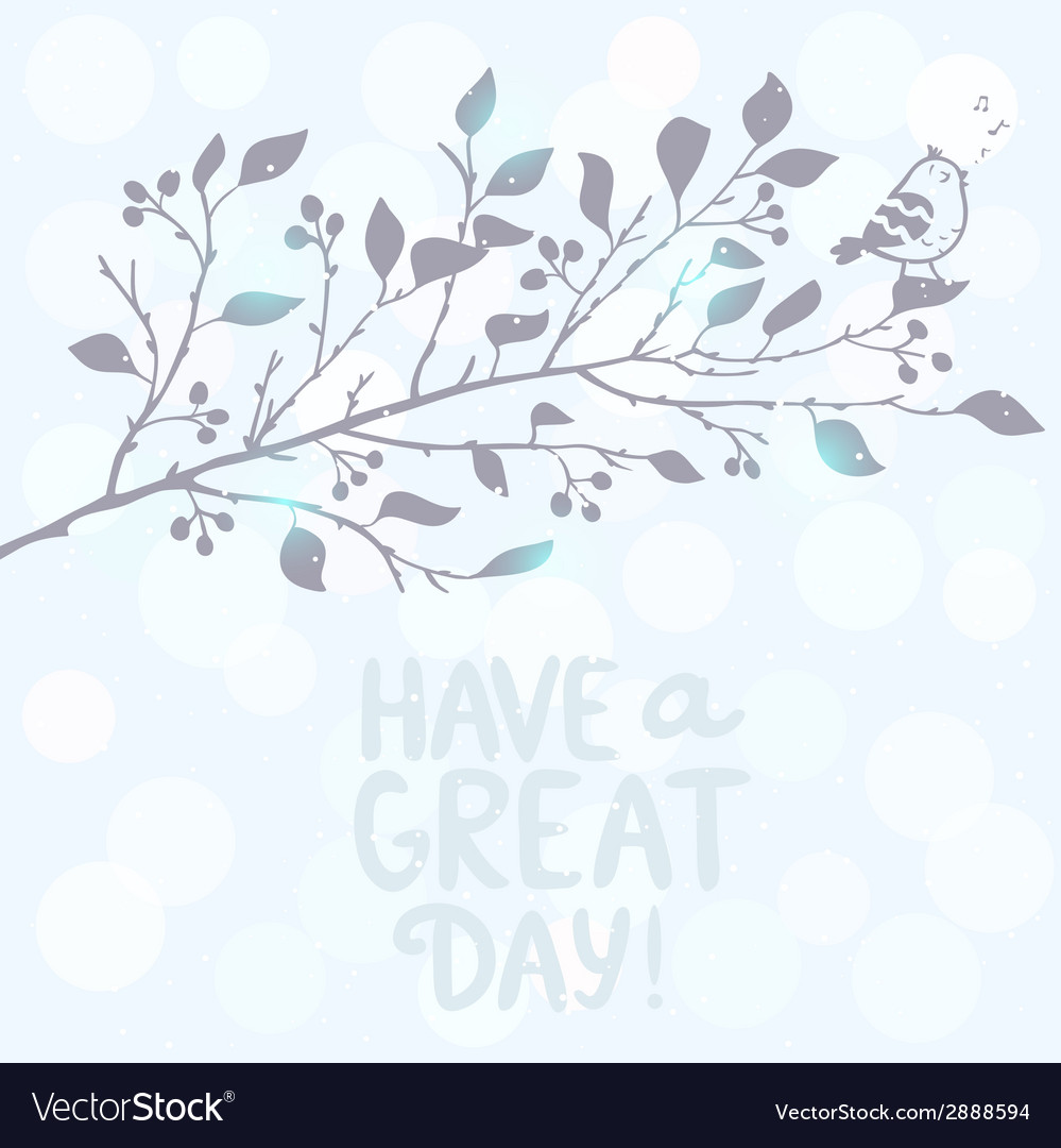 Branch tree silhouette vector | Price: 1 Credit (USD $1)