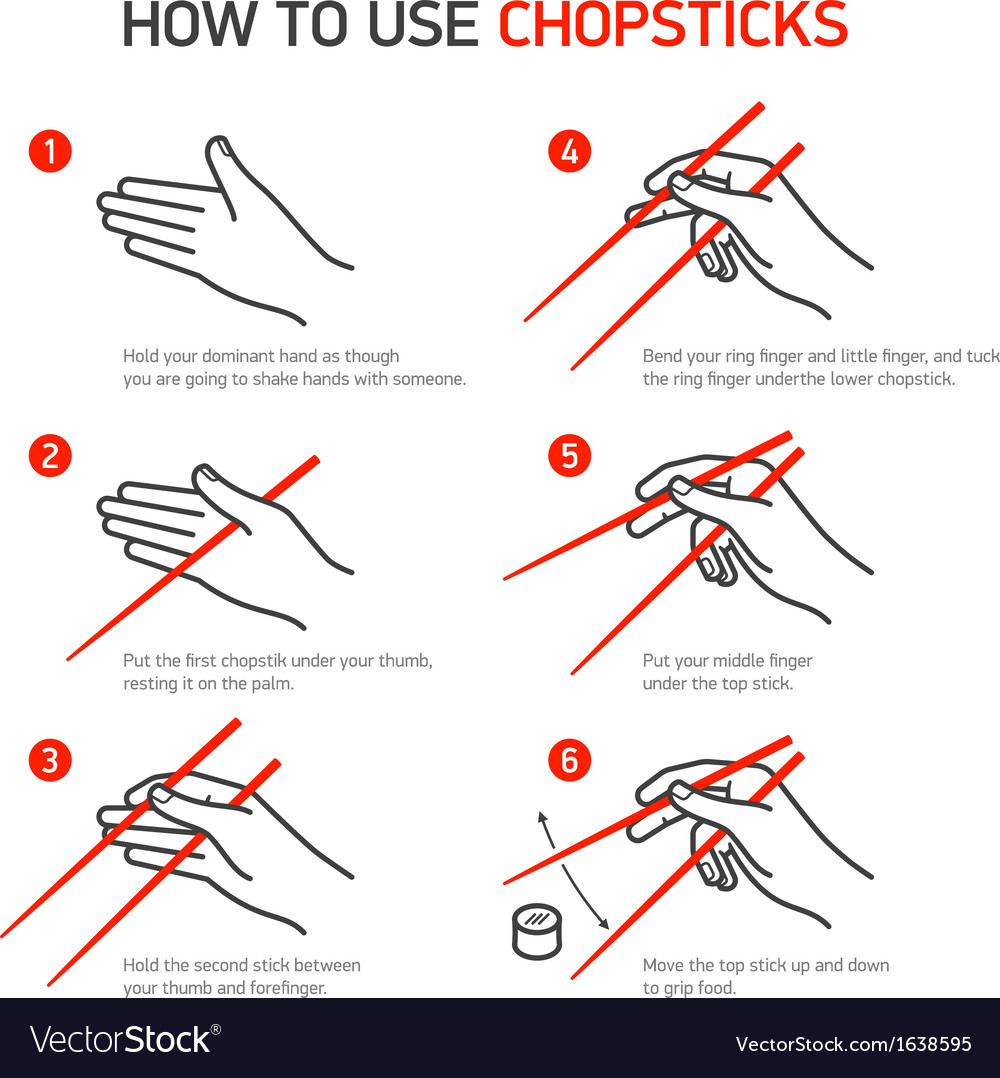 How to use chopsticks guidance vector | Price: 1 Credit (USD $1)