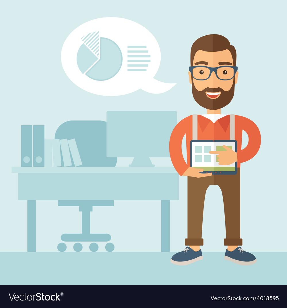 Office presentation vector | Price: 1 Credit (USD $1)