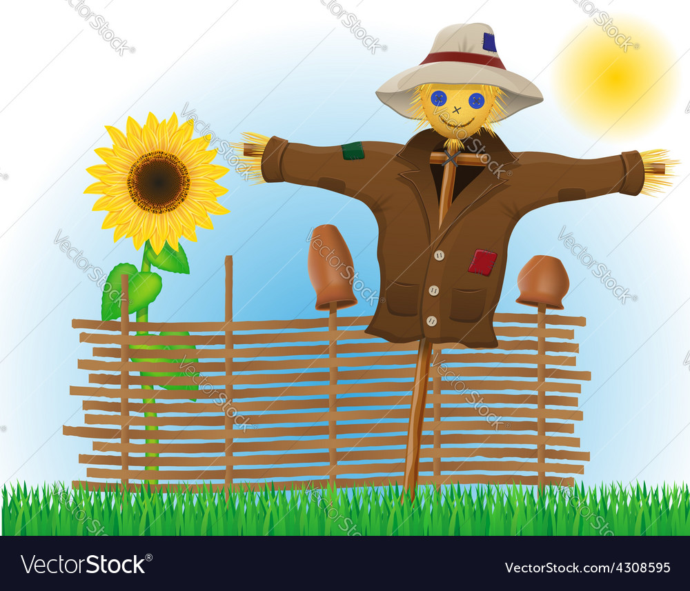 Scarecrow 02 vector | Price: 1 Credit (USD $1)