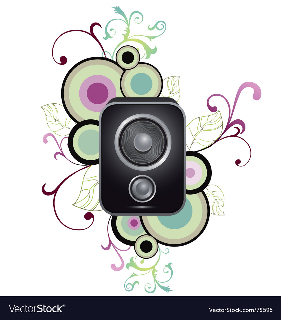 Speaker illustration vector | Price: 1 Credit (USD $1)
