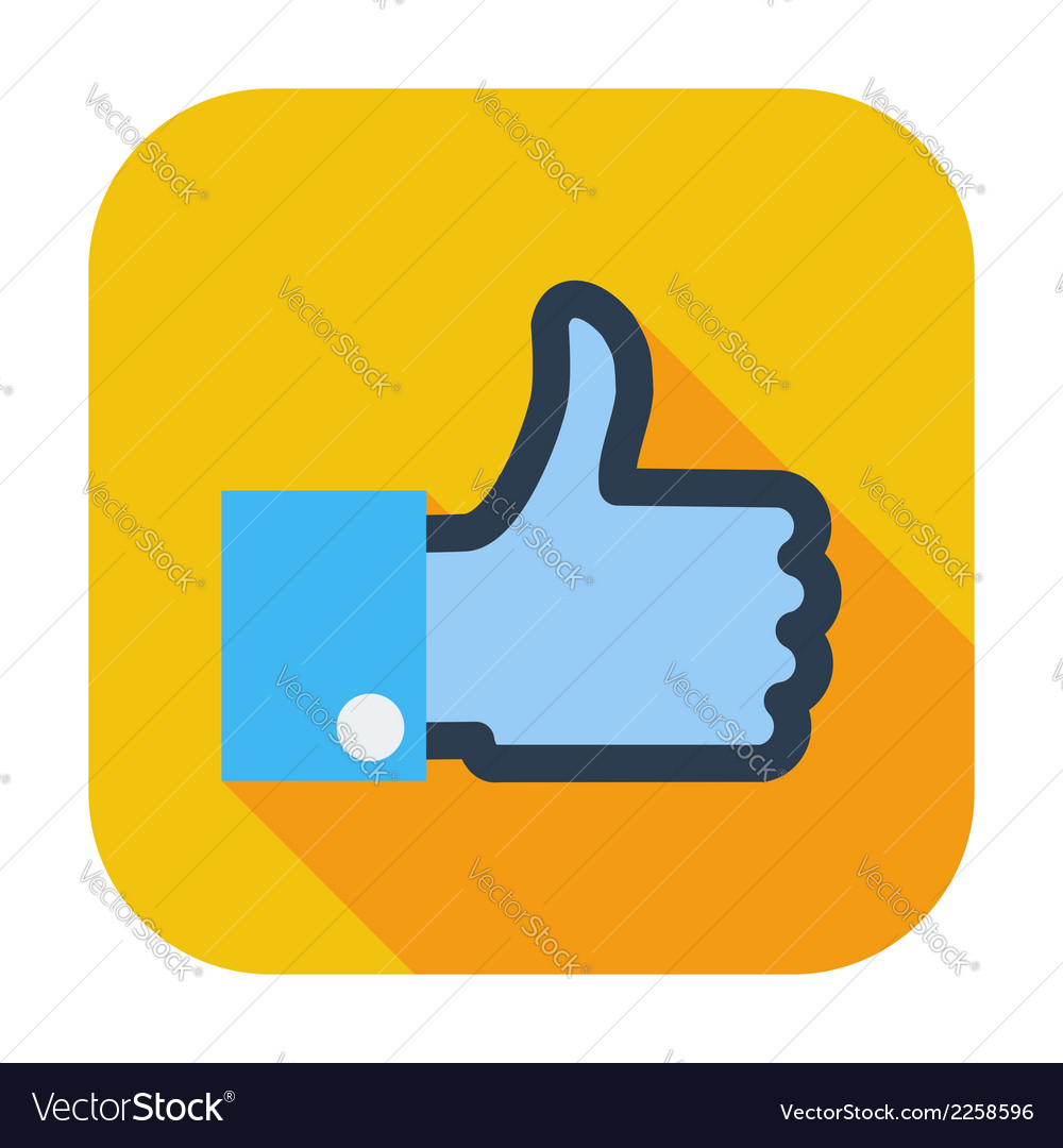 Like icon vector | Price: 1 Credit (USD $1)