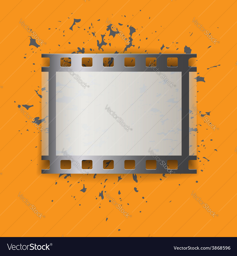 Picture film frame vector | Price: 1 Credit (USD $1)