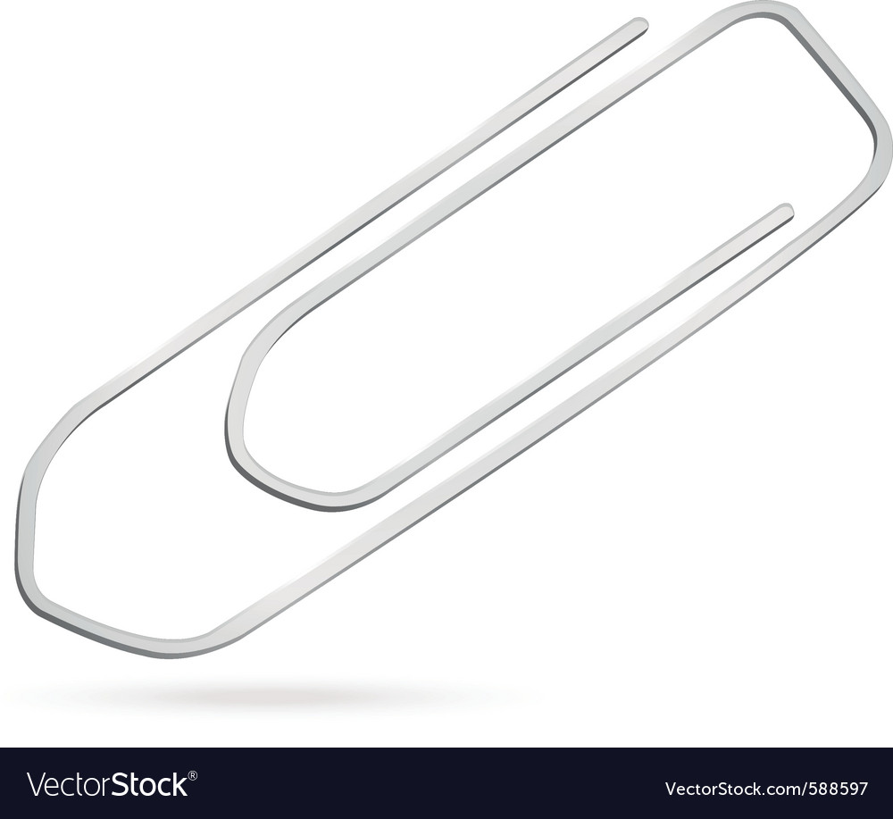 Paperclip vector | Price: 1 Credit (USD $1)