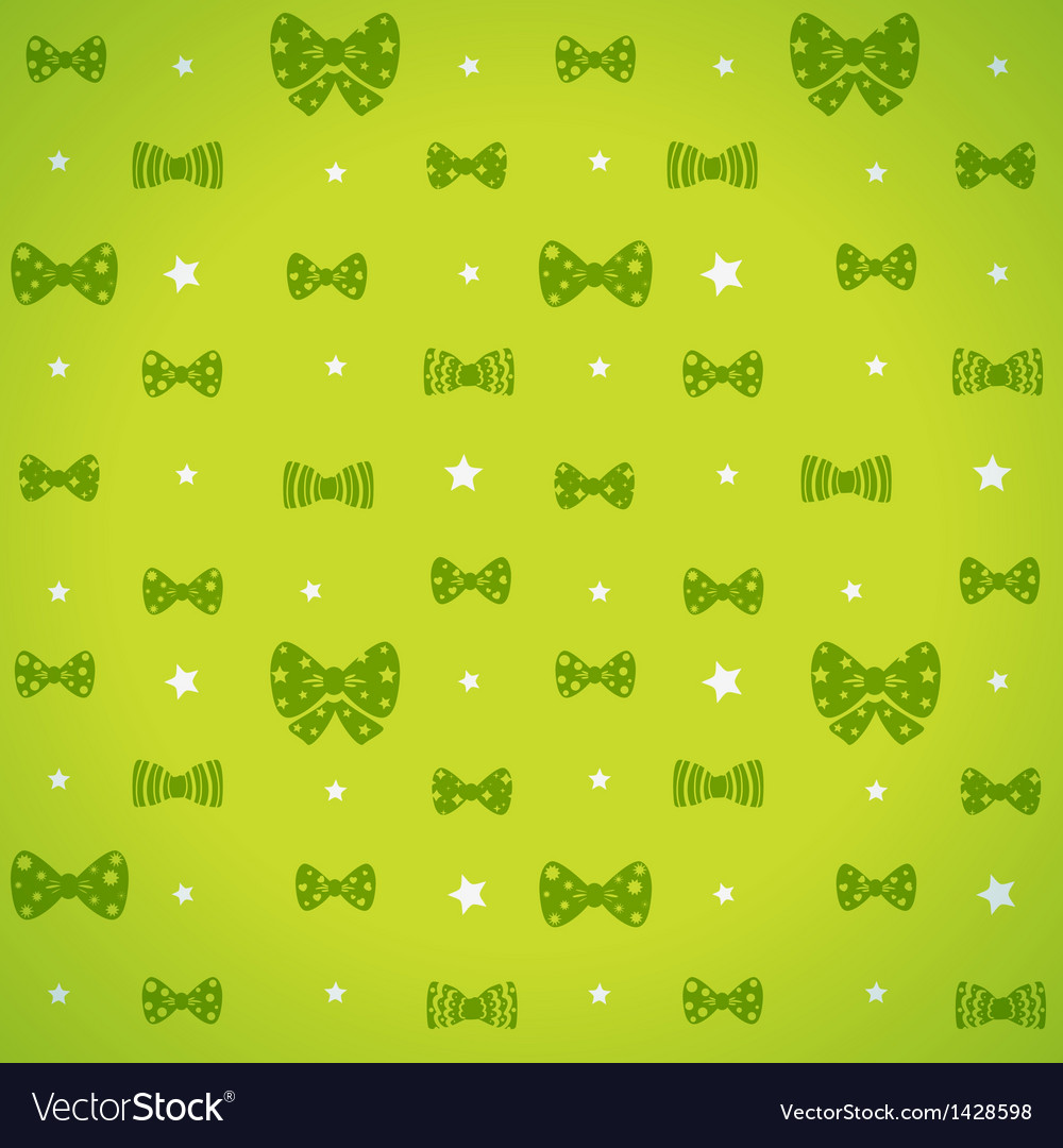 Bow pattern vector | Price: 1 Credit (USD $1)