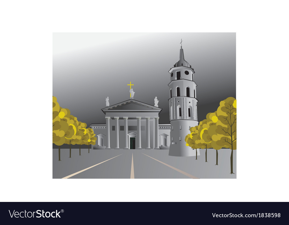 Church vector | Price: 1 Credit (USD $1)