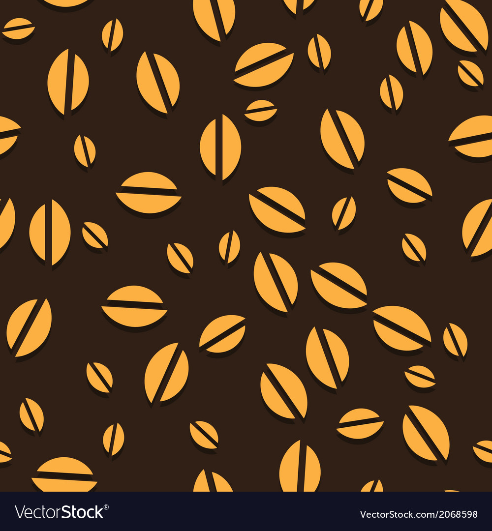 Coffee seamless vector | Price: 1 Credit (USD $1)