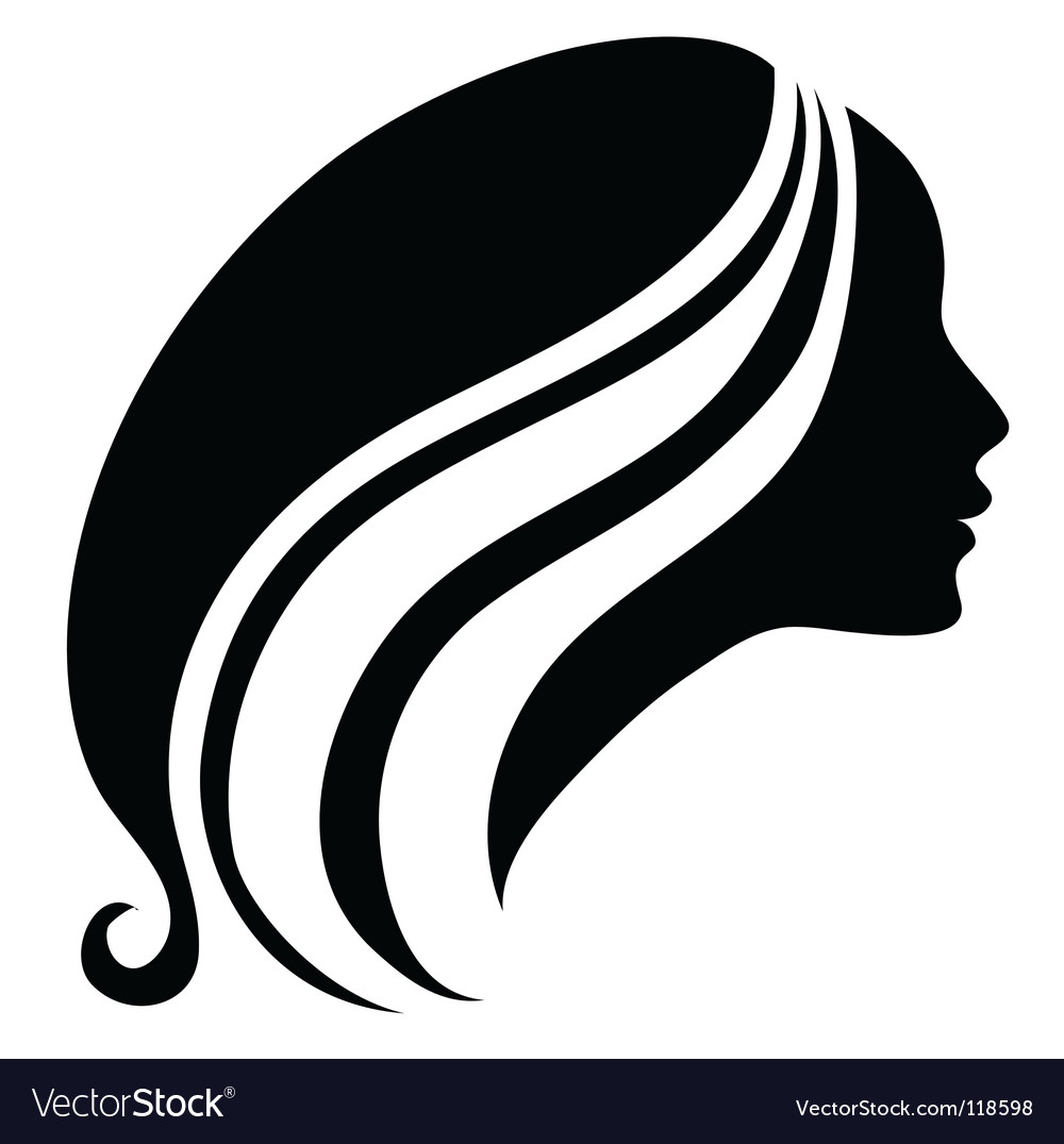 Girl icon vector | Price: 1 Credit (USD $1)