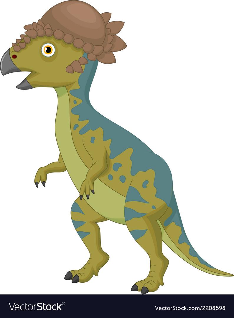 Pachycephalosaurus cartoon vector | Price: 1 Credit (USD $1)