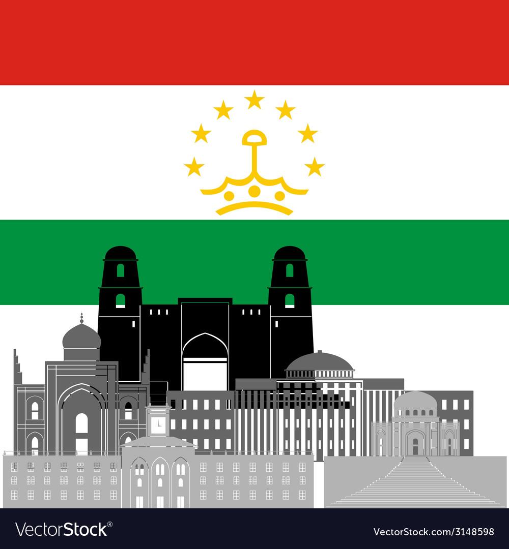 Tajikistan vector | Price: 1 Credit (USD $1)