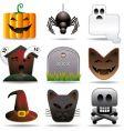 Halloween utilities vector