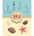 Sea collection vector
