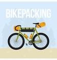 Bikepacking vector