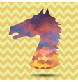 Abstract horse head vector