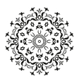 Abstract contour pattern vector