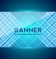 Dark blue digital banner vector