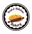Bakery label vector
