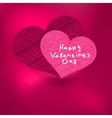Valentines day card template  eps8 vector