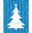 Knit sewater fabric horizontal texture christmas vector