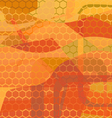 Abstract background - honey vector