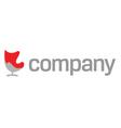 Modern furniture company logo vector