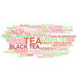 Tea variety vector