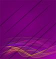 Purple wavy with cuts vector