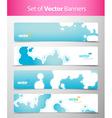 Abstract web headers vector
