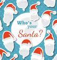 Whos your santa vector