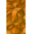 Low poly modern display triangle abstract vector